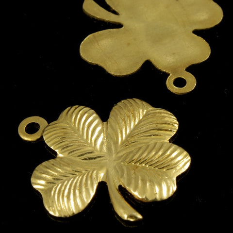 16mm Four Leaf Clover (2 Pcs) #1759-General Bead