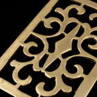 45mm Brass Open Scrollwork Rectangle-General Bead