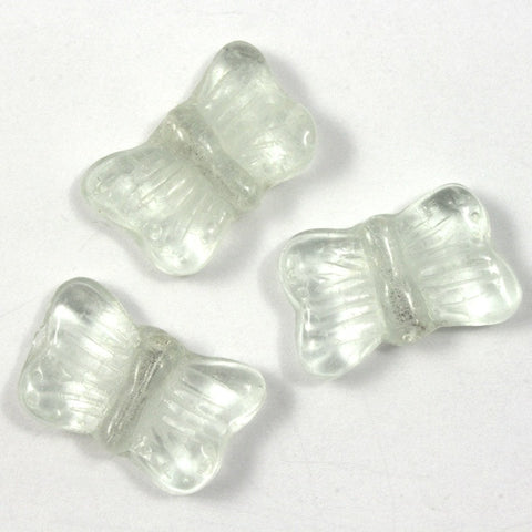 18mm Clear Glass Butterfly #1866-General Bead