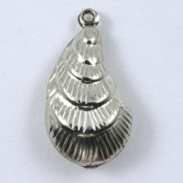 20mm Silver Seashell #200