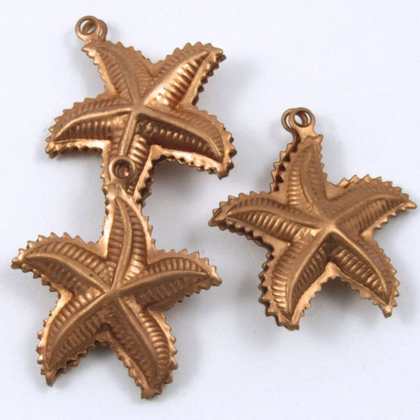 25mm Copper Starfish