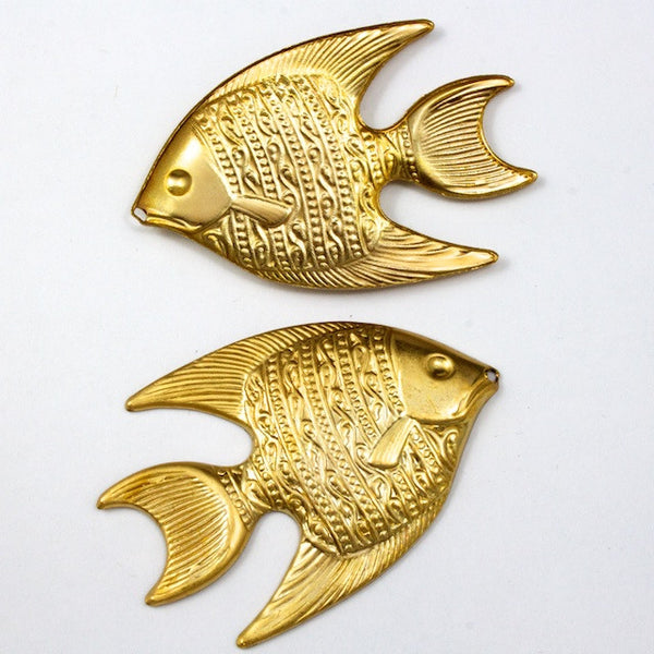 40mm Angelfish Charm #2070
