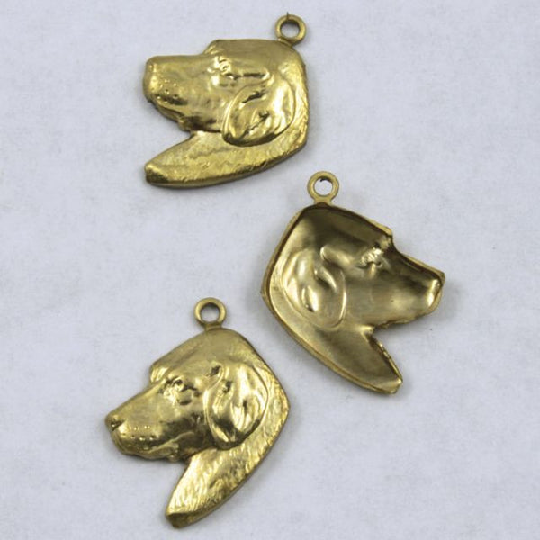 18mm Brass Dog Head