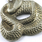 15mm Antique Silver Coiled Snake #217-General Bead