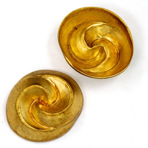 22mm Nestled Swirl Dome (2 Pcs) #2235-General Bead