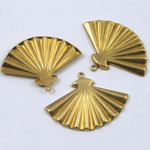 22mm Brass Open Fan