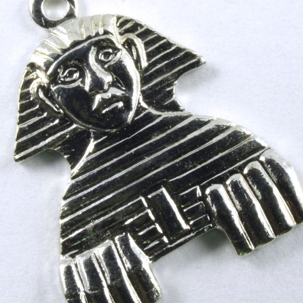 14mm Silver Sphinx Charm