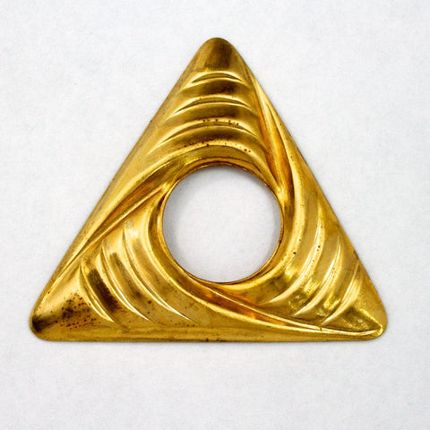 30mm Open Triangle Swirl (2 Pcs) #2341-General Bead