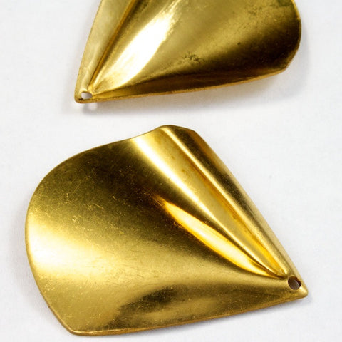 35mm Art Deco Draped Triangle Drop Pair (Set) #2361-General Bead