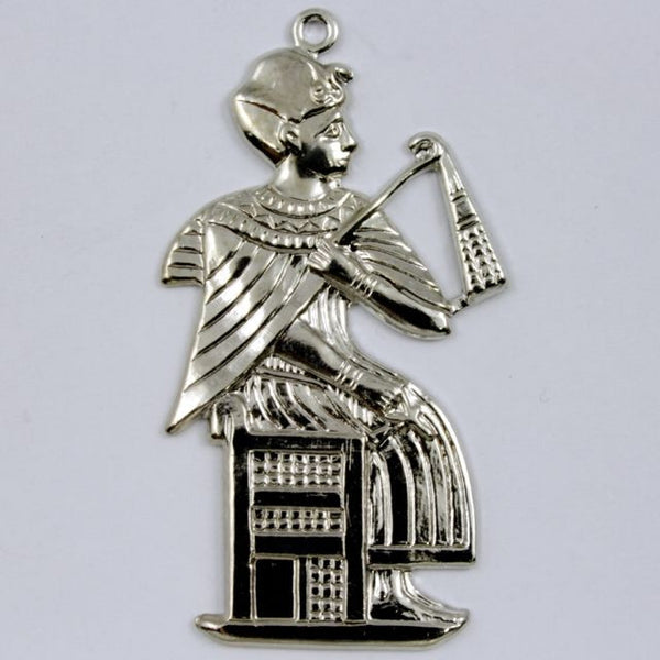 30mm Silver Seated Pharaoh #236