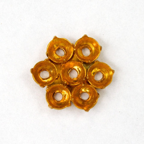 12mm 6 Petal Rhinestone Setting-General Bead
