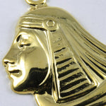 52mm Gold Egyptian Lotus Profile #248