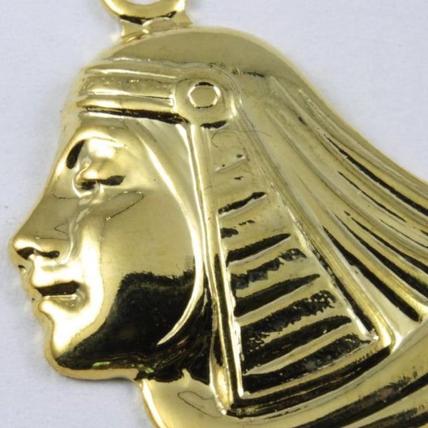 52mm Gold Egyptian Lotus Profile
