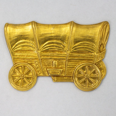 45m Brass Covered Wagon #2502-General Bead