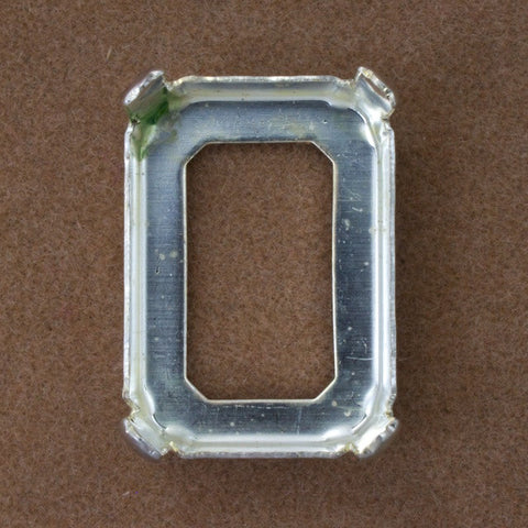 18mm x 25mm Rectangle Cabochon Setting
