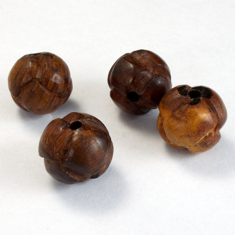 15mm Brown Knot Bead-General Bead