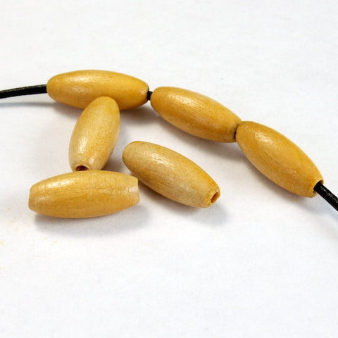 15mm Wooden Oval Bead-General Bead