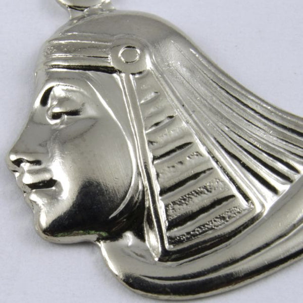 52mm Silver Egyptian Lotus Profile