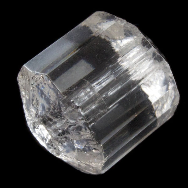 10mm Clear Faceted Drum #2687