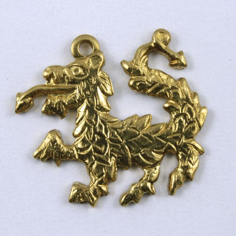 16mm Brass Small Dragon #268