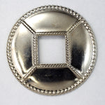 40mm Silver Concho #2841-General Bead