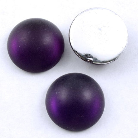 18mm Frosted Black Cherry-General Bead