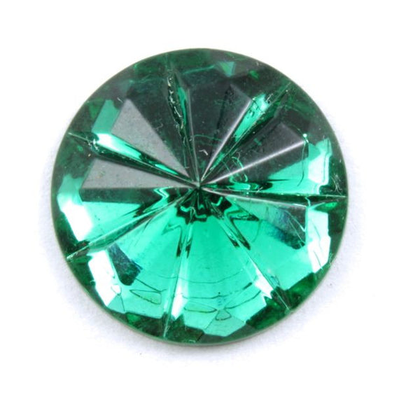 15mm Emerald Faceted Cab #298