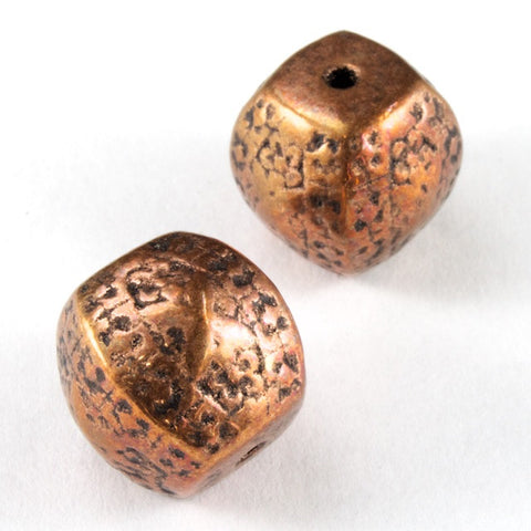 18mm Antique Copper Four Sided Barrel