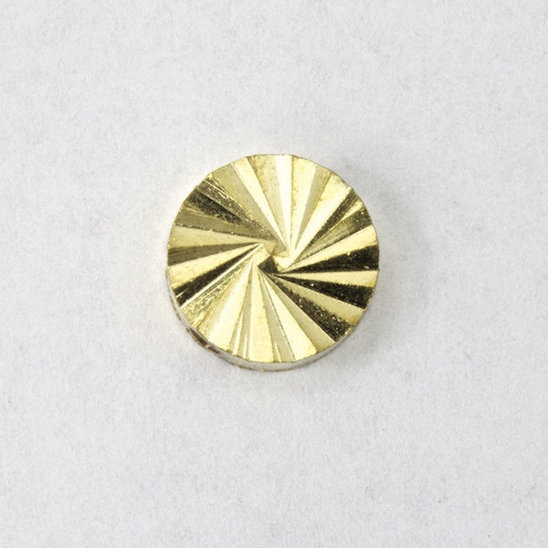 10mm Brass Radial Disc