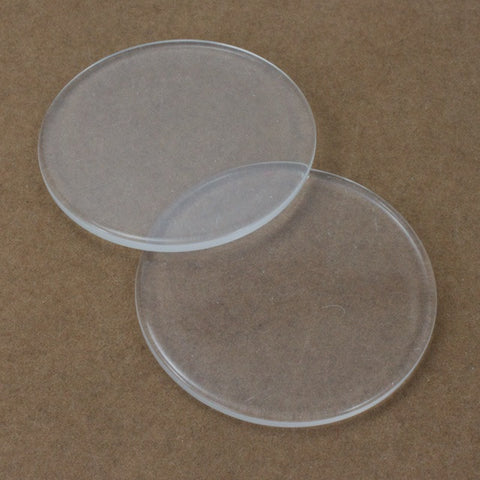 50mm Clear Round Blank #3278-General Bead