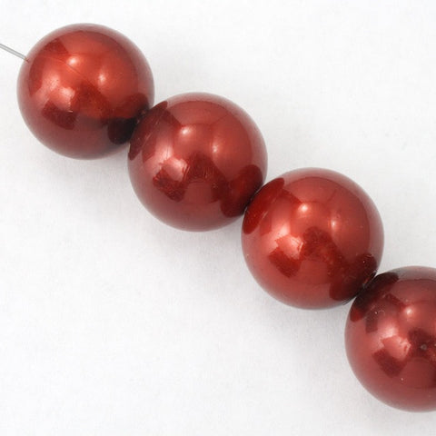 16mm Cranberry Pearl