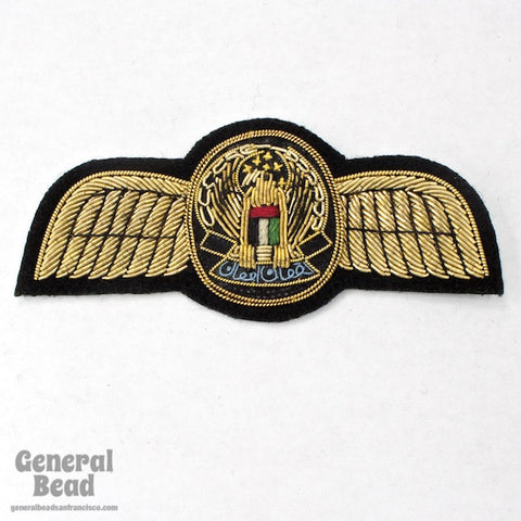 100mm Eagle with Wings Patch-General Bead