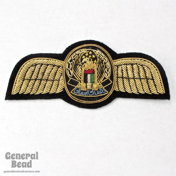 100mm Eagle with Wings Patch