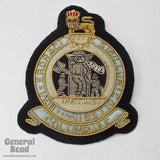 90mm Blue and Gold Seal of Columbia Patch