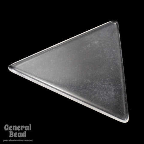 62mm Clear Triangle Blank