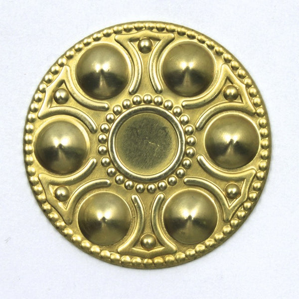 30mm Raw Brass Egg Platter