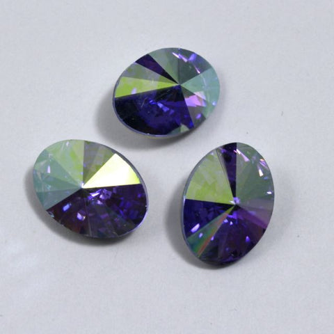 4102 10mm x 14mm Light Sapphire AB-General Bead