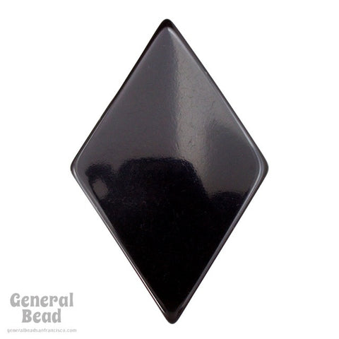 45mm x 68mm Black Rhombus Blank