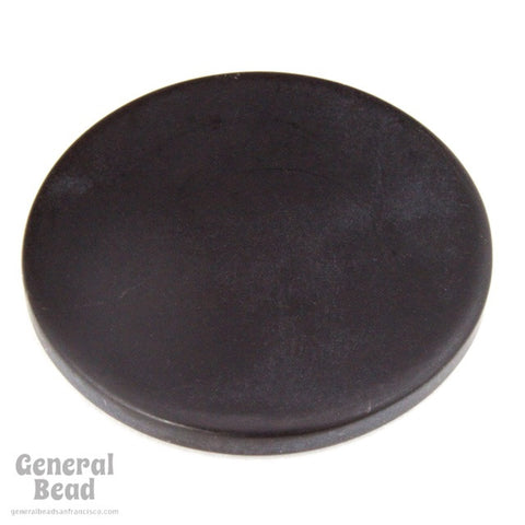 30mm Opaque Matte Black Circle Blank