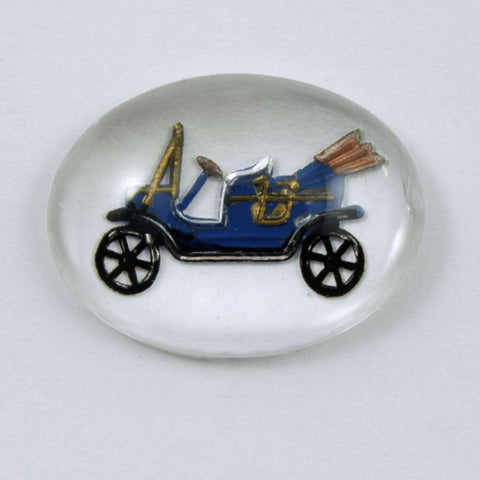 15mm x 20mm Model-T Ford Cabochon #XS71-C-General Bead
