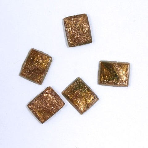 8mm Bronze Rectangle Cabochon (2 Pcs) XS32-E-General Bead