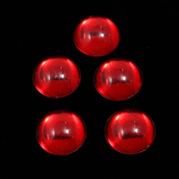 11mm Ruby Round Cabochon