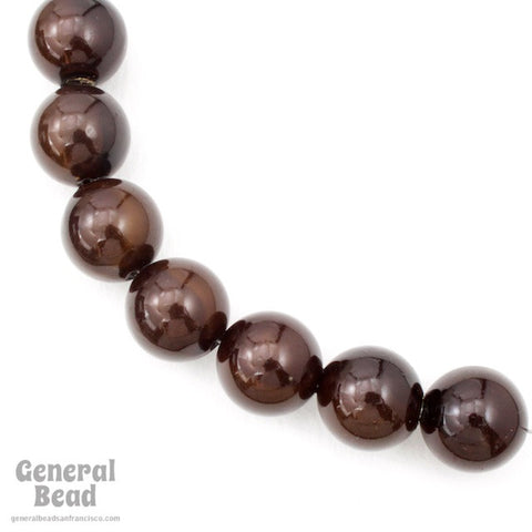 16mm Eggplant Pearl-General Bead