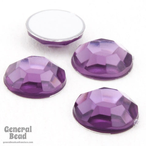 10mm Light Purple Acrylic Rhinestone