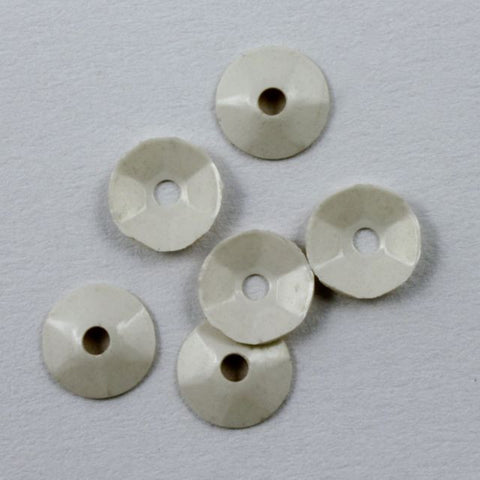 4mm White Sequin-General Bead