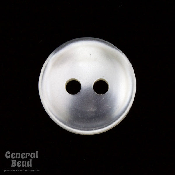 10mm Pearly White Shirt Button