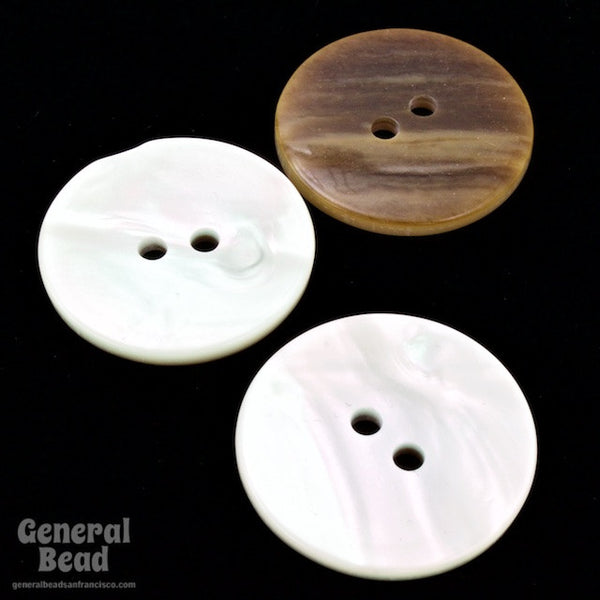 24mm Faux Mother of Pearl Button