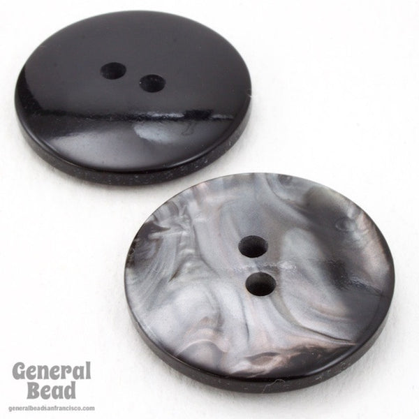 24mm Pearly Grey Button