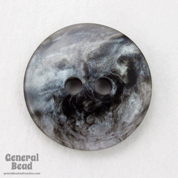 18mm Stormy Pearl Grey Button