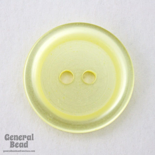 20mm Pearl Yellow Button